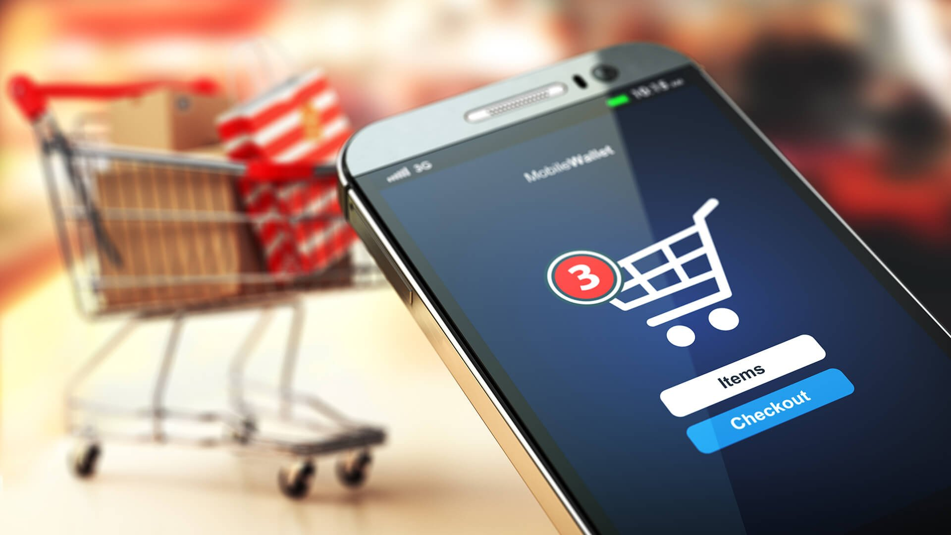 Mobile shopping accounts for over 50% of online purchases